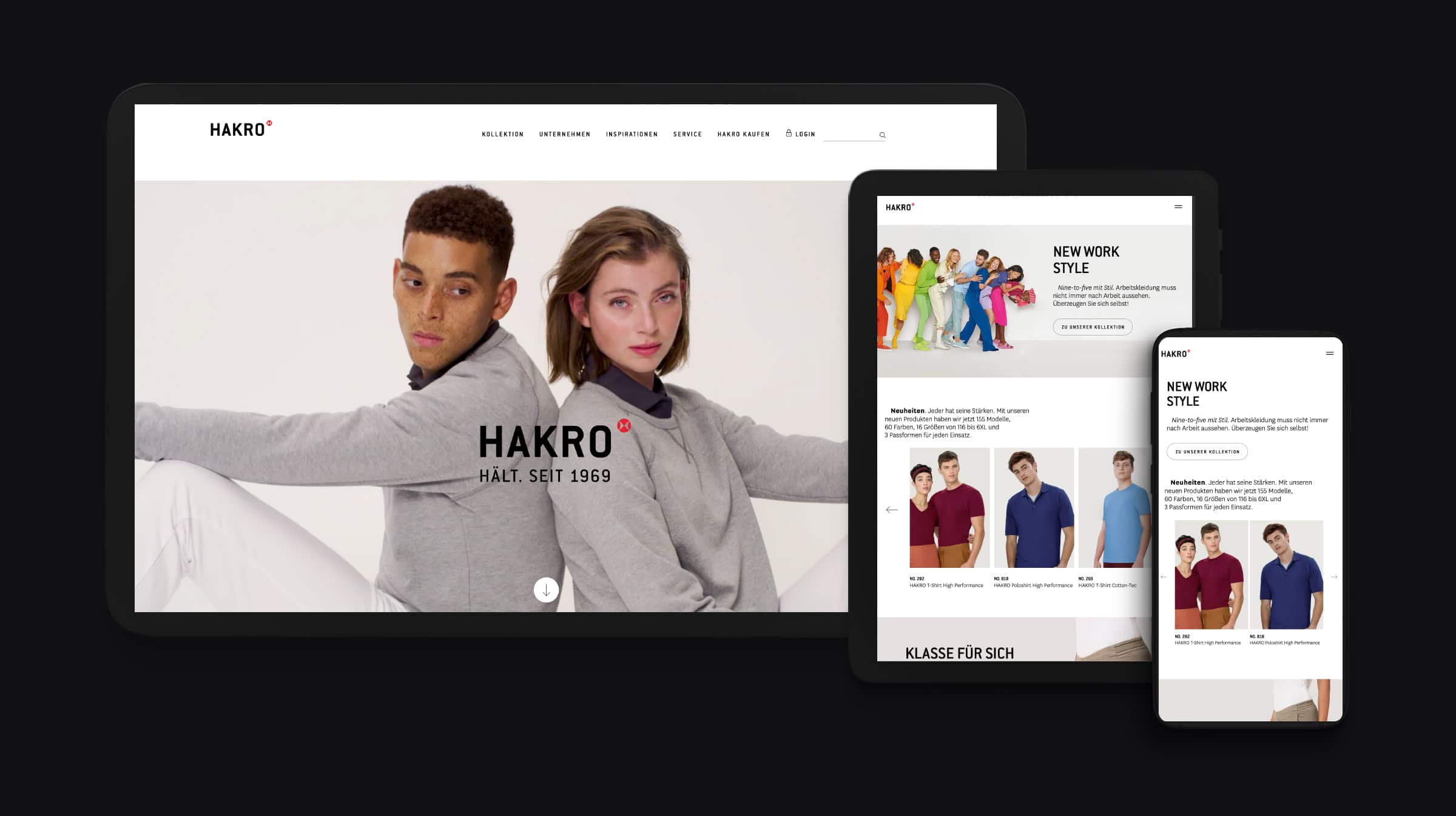 Hakro Website Mockup Inspirations-Shooting