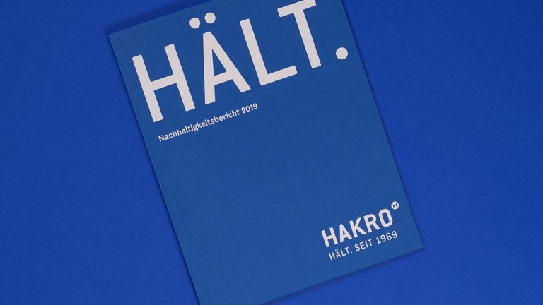 HÄLT. – HAKRO takes stock