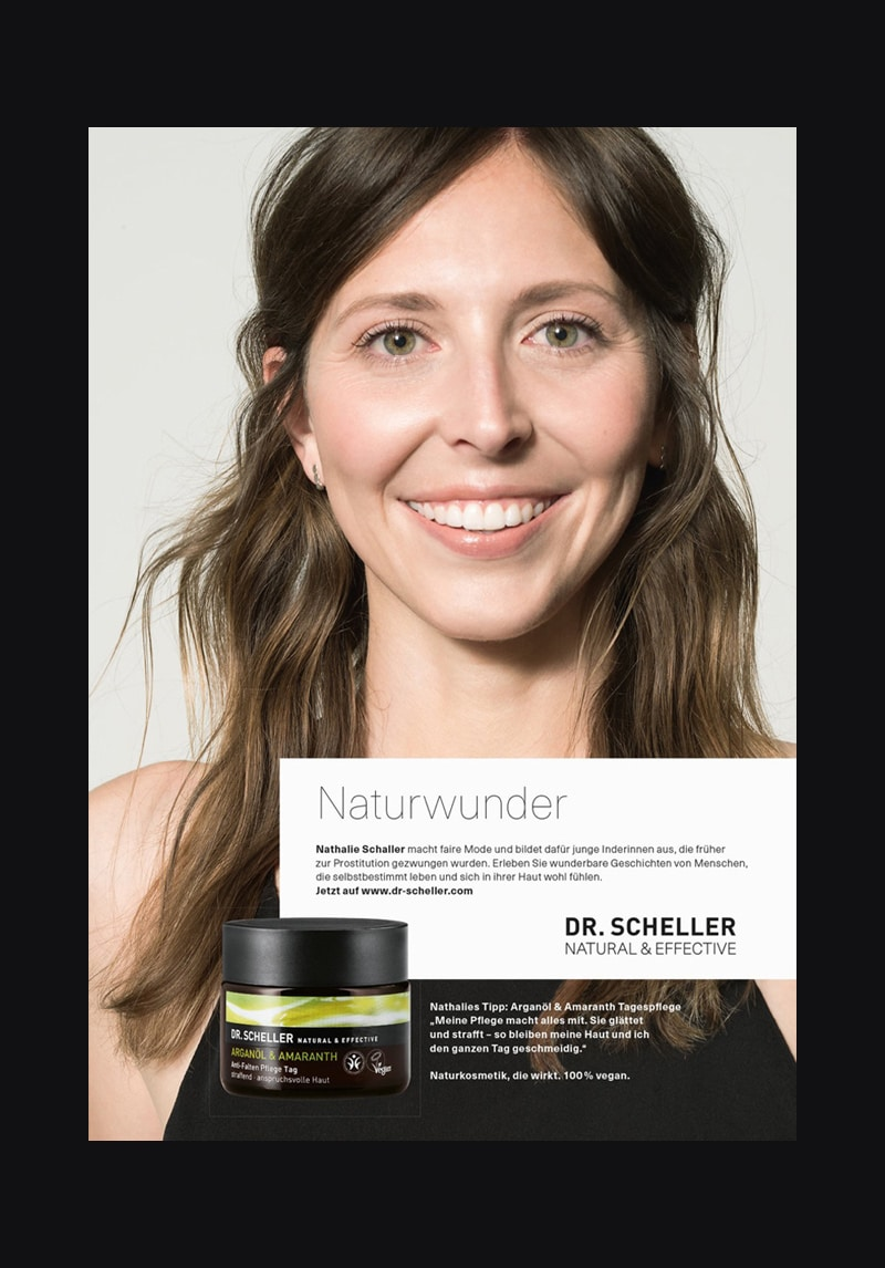 Visual as part of the Dr. Scheller brand relaunch